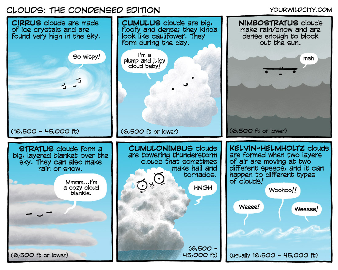 Clouds: The Condensed Edition